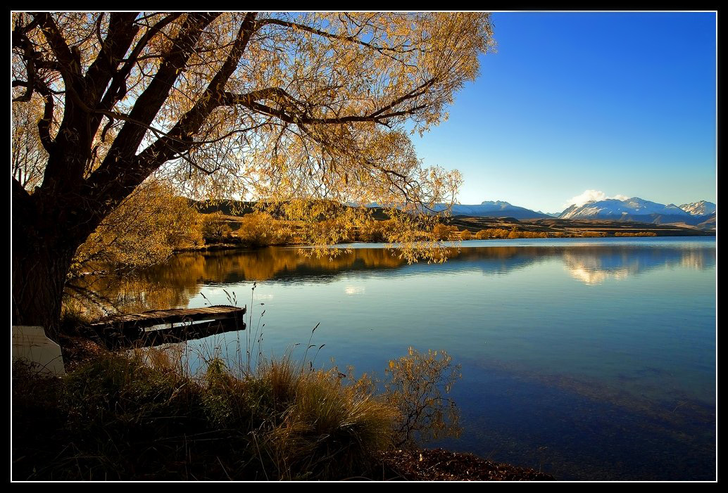 Lakeside View - Lakes & Nature Background Wallpapers on Desktop ...