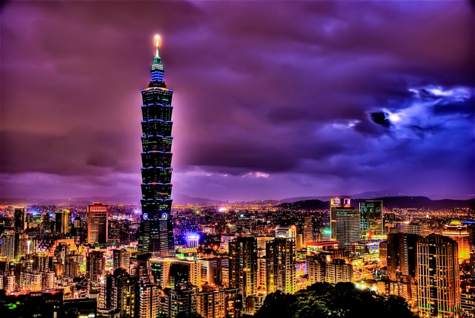 Taipei 101 courtesy of Francisco Diez