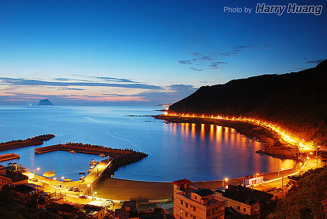 The dawn of a small fishing port dawulun keelung taiwan courtesy of harry taiwan