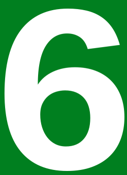 500px-Japanese_Urban_Expwy_Sign_Number_6.svg