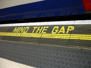 Mind the Gap by Clicsouris